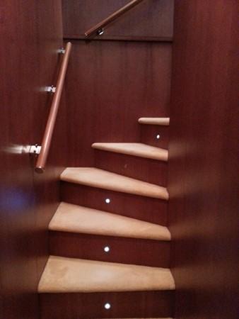 Aicon 85 Flybridge - Wooden Staircase 2010 AICON YACHTS 2010 Aicon 85 Flybridge Motor Yacht 920319