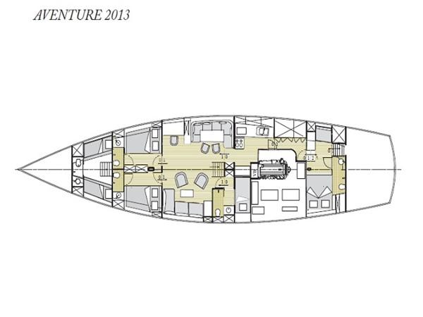 Ketch Classic Yacht 28m - Layout 2011 CUSTOM BUILT  Classic Yacht 934088