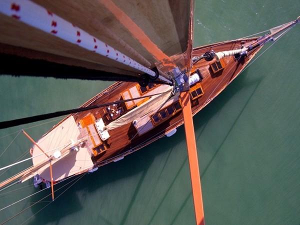 Ketch Classic Yacht 28m - Bird eye view from mast 2011 CUSTOM BUILT  Classic Yacht 934094