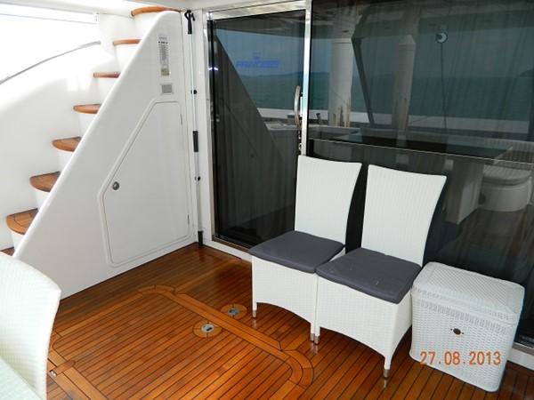 Princess 65 - aft deck 2004 PRINCESS YACHTS Princess 65 Motor Yacht 964851