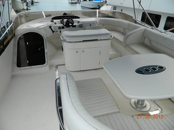 Princess 65 - flybridge deck 2004 PRINCESS YACHTS Princess 65 Motor Yacht 964852