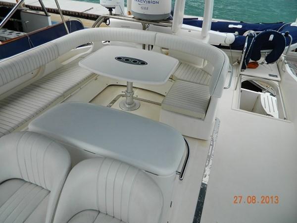 Princess 65 - flybridge lounge 2004 PRINCESS YACHTS Princess 65 Motor Yacht 964853