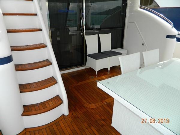 Princess 65 - aft deck 2004 PRINCESS YACHTS Princess 65 Motor Yacht 964857