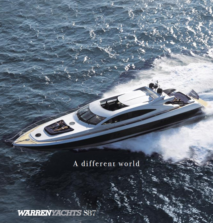 2017 WARREN YACHTS S87 High Performance 975558
