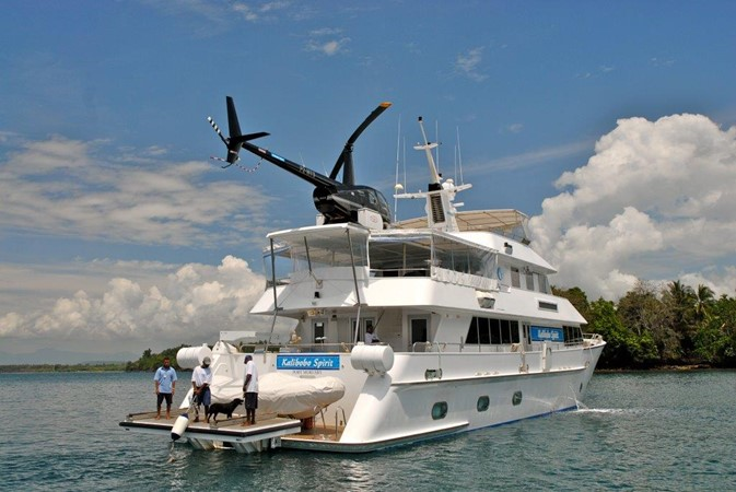 2003 CUSTOM 98 MOTOR YACHT Commercial Vessel 1034510