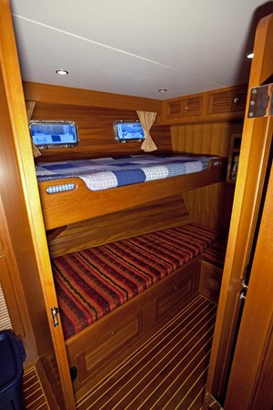 Guest Stateroom with  Private Door 2007 SELENE Ocean Trawler Trawler 1076508