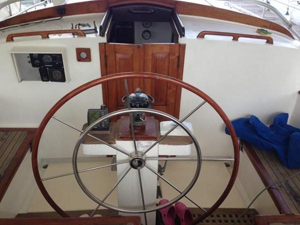 1968 CUSTOM Steel Sailing Yacht Cruising Sailboat 1085812