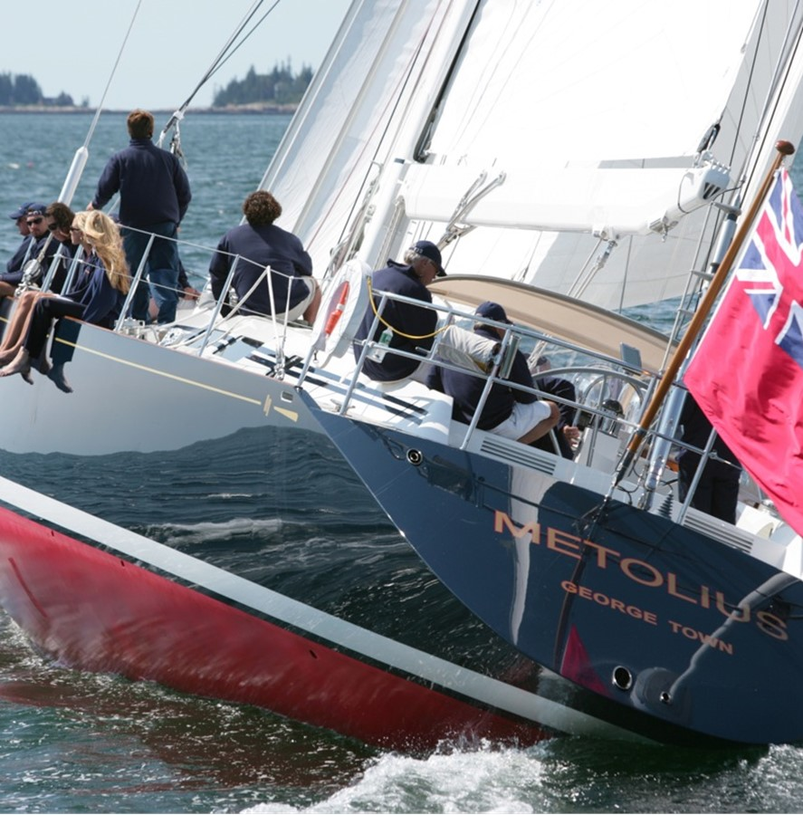 sailing, transom 1992 ROYAL HUISMAN 84' Cruising Sailboat 1092152