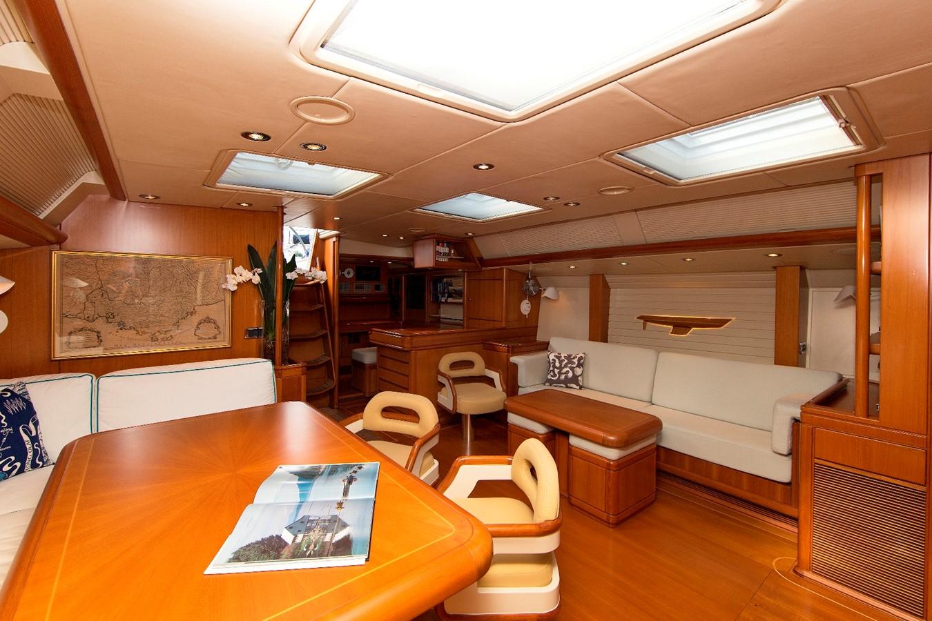 saloon 1992 ROYAL HUISMAN 84' Cruising Sailboat 1092154