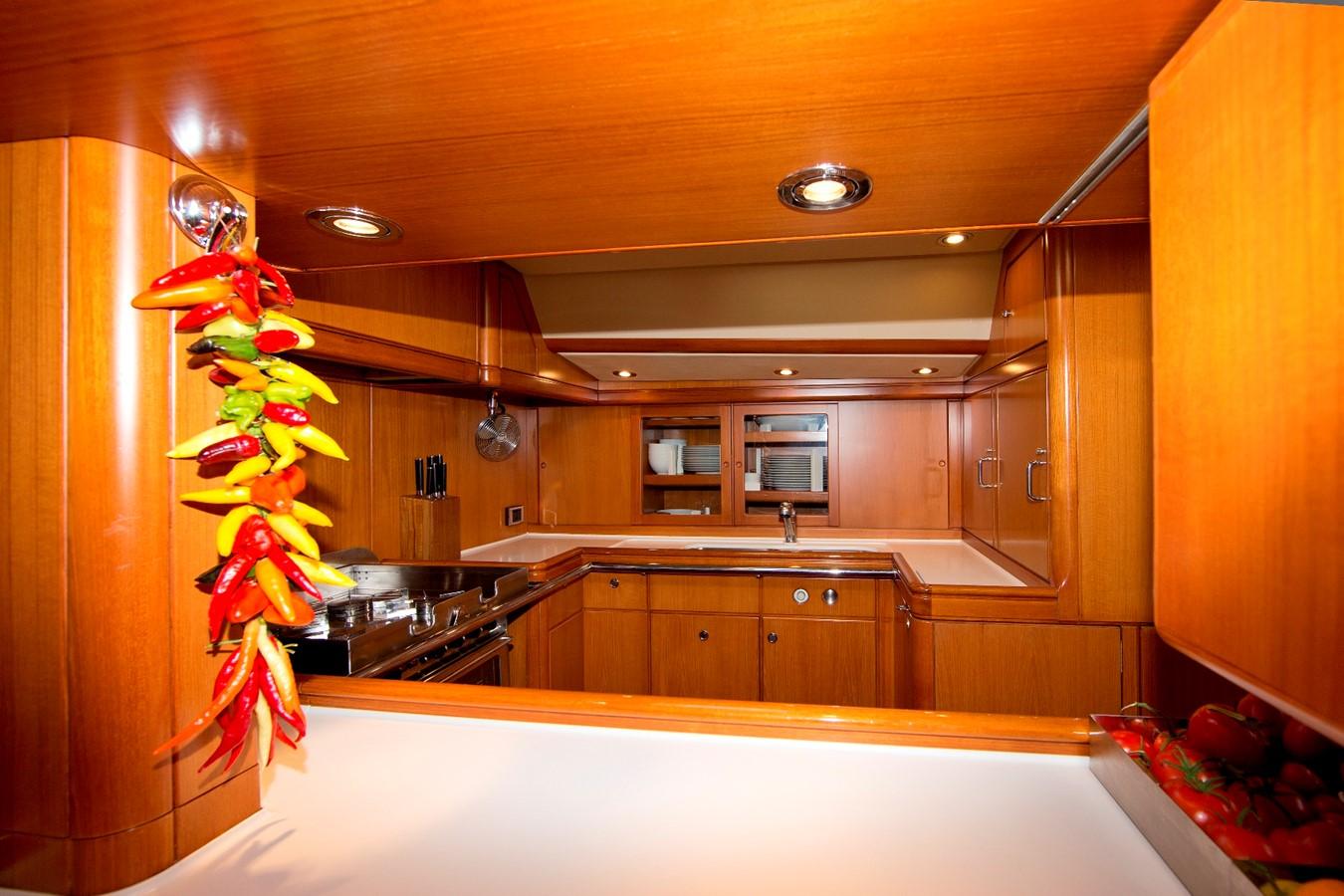 Galley 1992 ROYAL HUISMAN 84' Cruising Sailboat 1092162