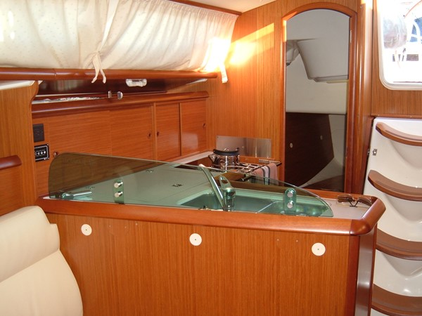 Galley and aft cabin 2006 JEANNEAU Jeanneau Sun Fast 35 Cruising/Racing Sailboat 1103619
