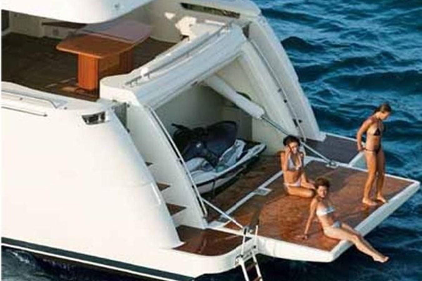 Swimming platform 2007 FERRETTI YACHTS  Motor Yacht 1115343
