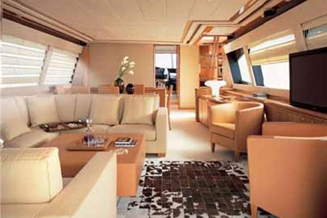 Saloon 2007 FERRETTI YACHTS  Motor Yacht 1115344