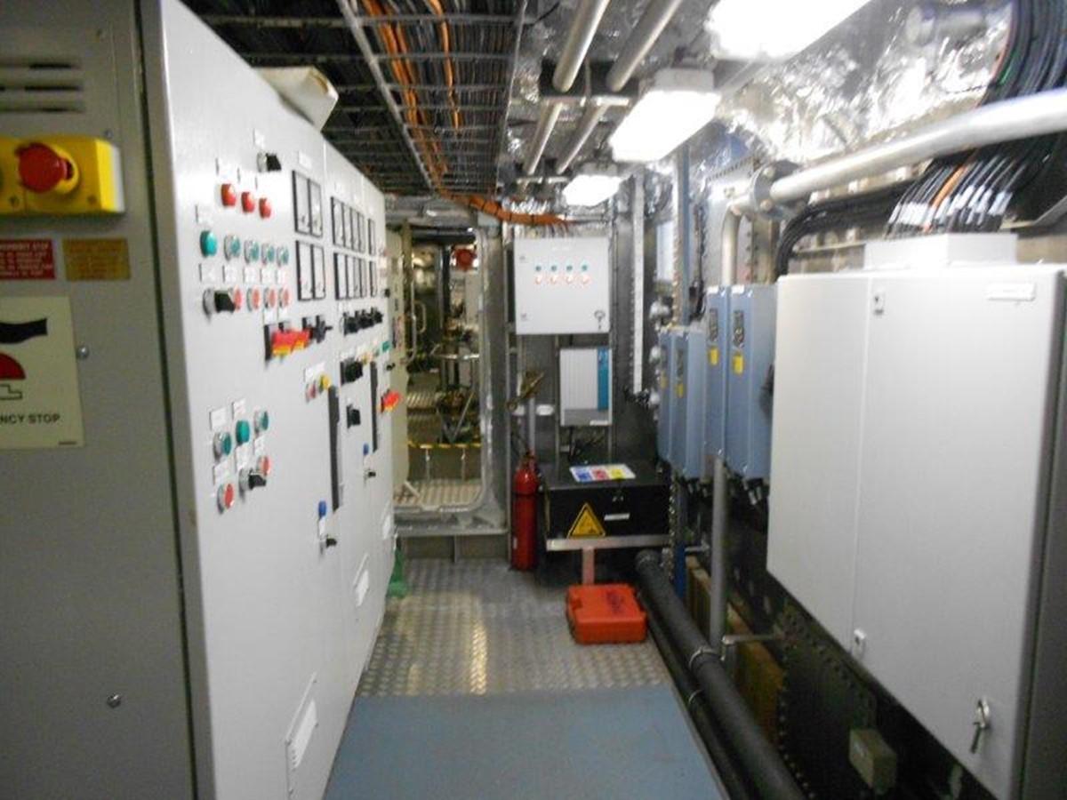 Electrical Room 2012 DAMEN Damen Sea Axe Expedition Yacht 1201692