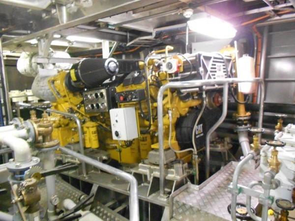 Engine Room 2012 DAMEN Damen Sea Axe Expedition Yacht 1201693
