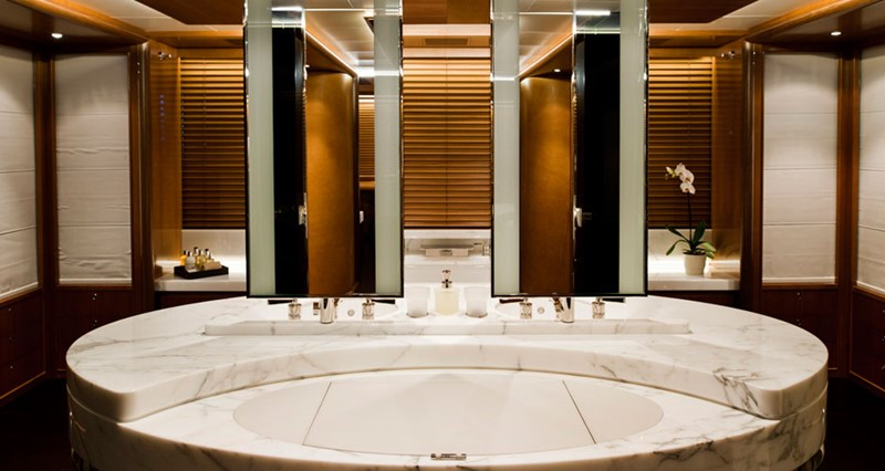 Master Bath 2010 PERINI NAVI  Cruising Ketch 1268715
