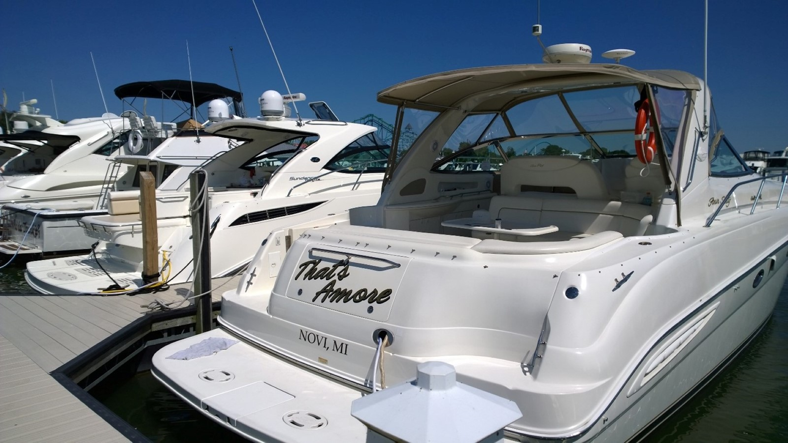 2000 SEA RAY 460 Sundancer Cruiser 1305021