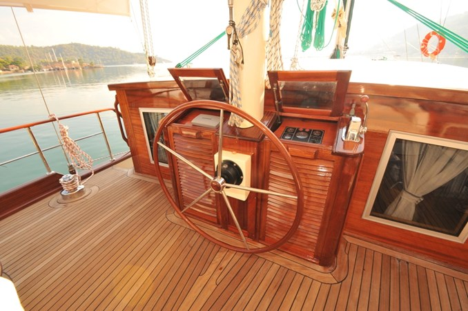 Helm Station 2014 Custom Ketch Ketch Cruising Sailboat 1314798