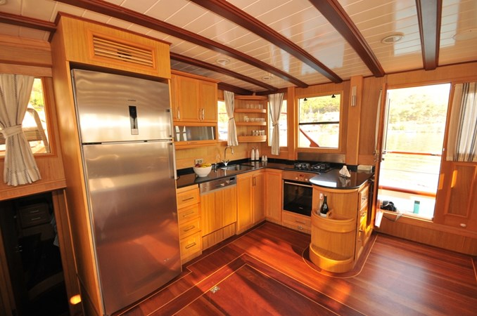 Galley 2014 Custom Ketch Ketch Cruising Sailboat 1314800