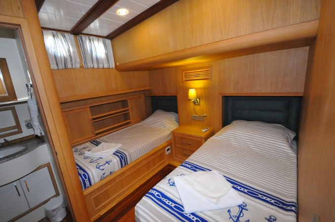 Guest Stateroom 2014 Custom Ketch Ketch Cruising Sailboat 1314804
