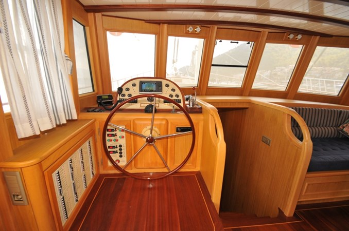 Pilothouse Helm 2014 Custom Ketch Ketch Cruising Sailboat 1314808