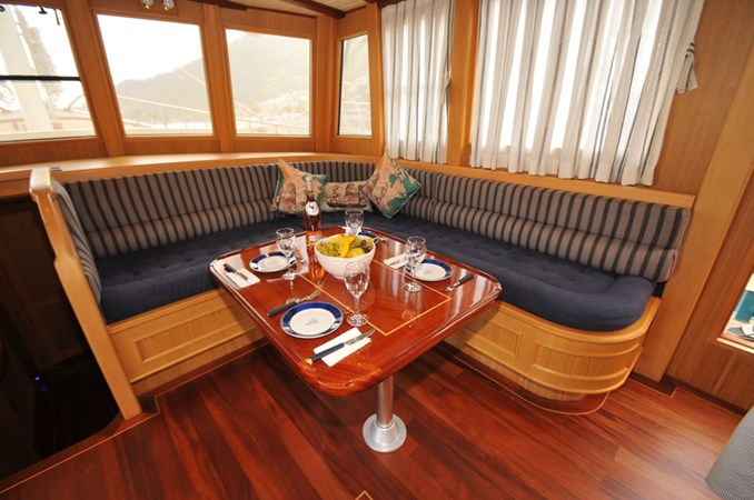 Salon/Dinette 2014 Custom Ketch Ketch Cruising Sailboat 1314809