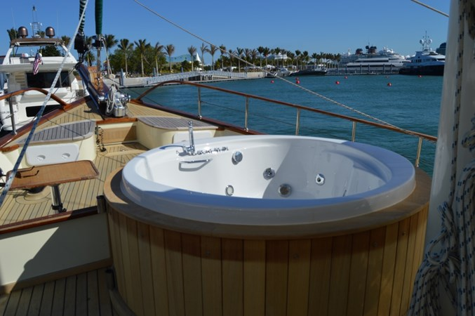 Hot Tub 2014 Custom Ketch Ketch Cruising Sailboat 1427080