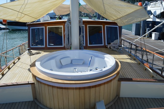Hot Tub 2014 Custom Ketch Ketch Cruising Sailboat 1427081