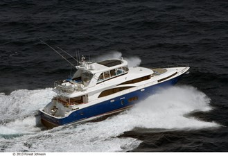 JOHNSON 80' FLYBRIDGE w/FISHING COCKPIT 227103