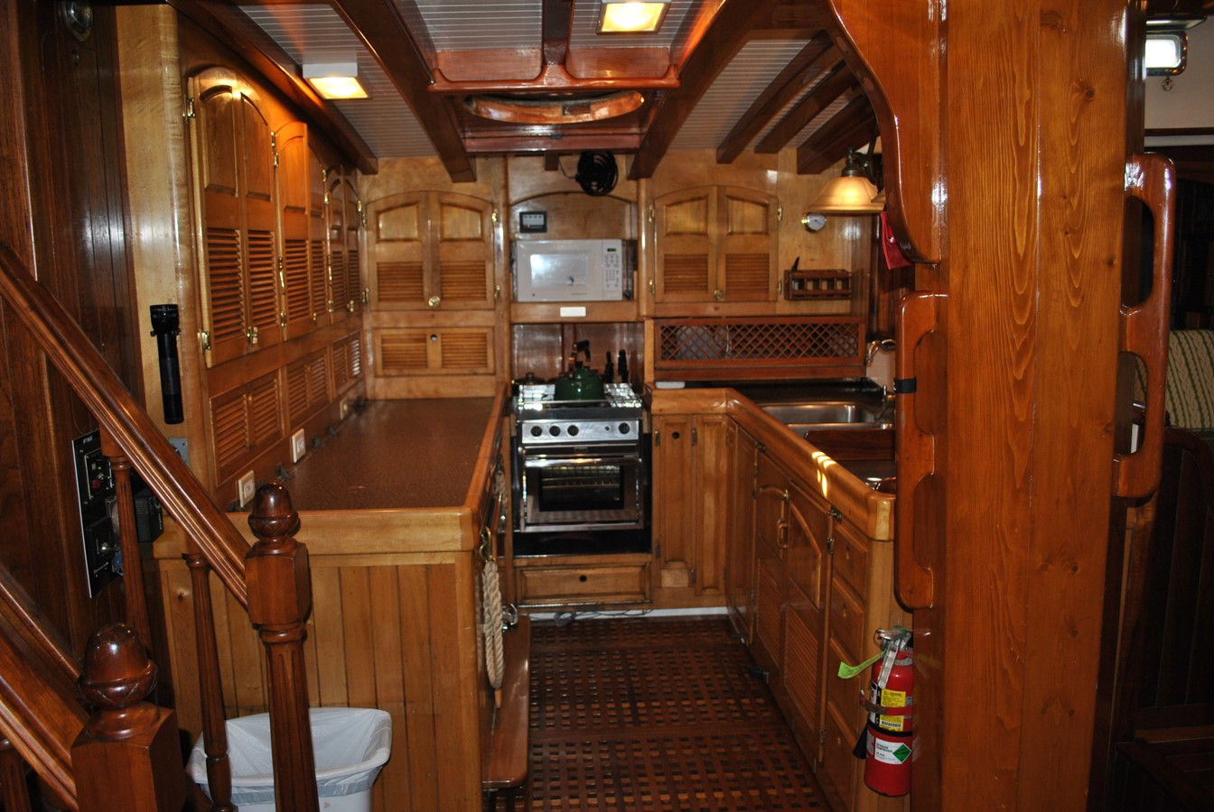 Galley 1991 COVEY ISLAND BOAT WORKS  Cruising Sailboat 1522882