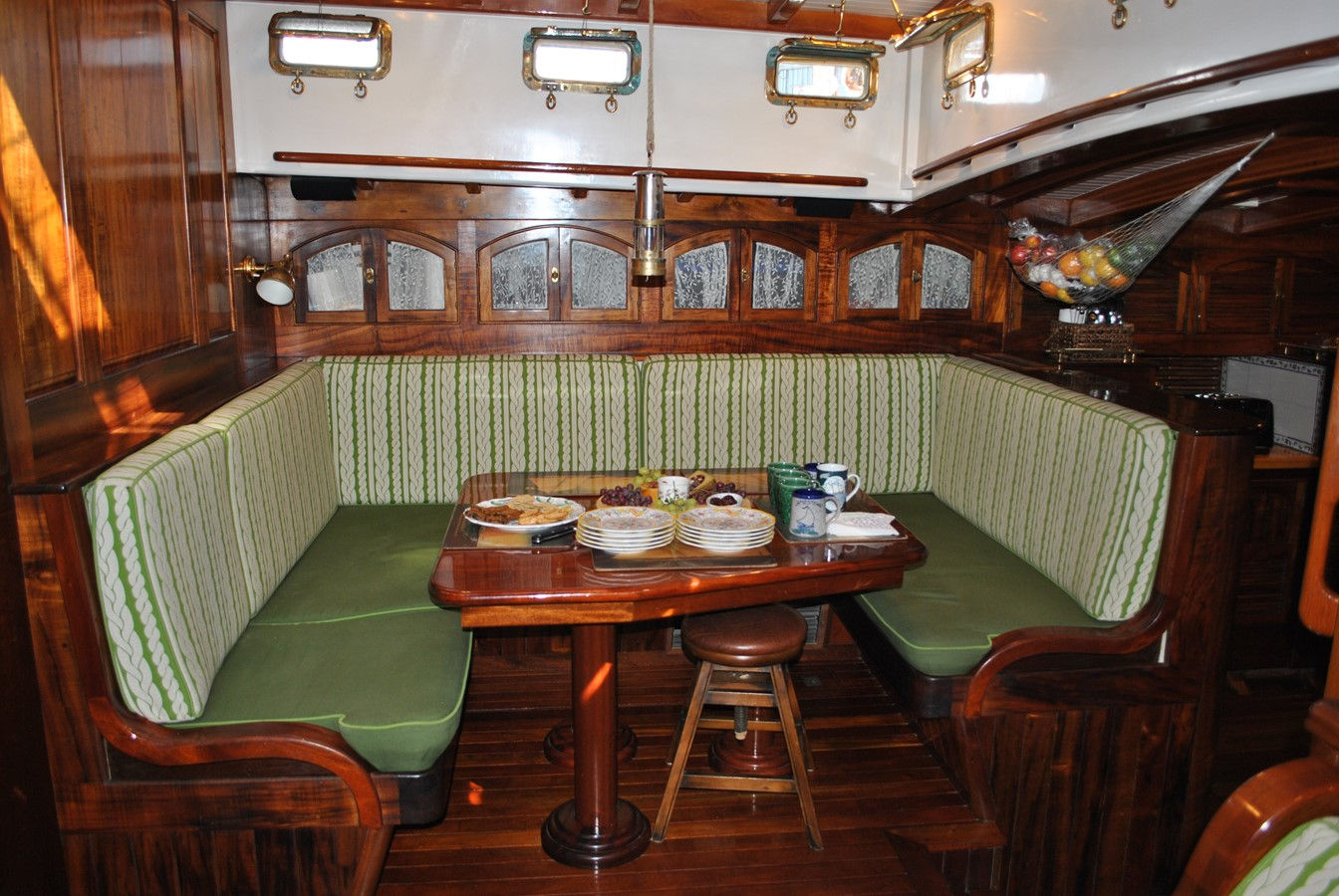 Dining Saloon 1991 COVEY ISLAND BOAT WORKS  Cruising Sailboat 1522883