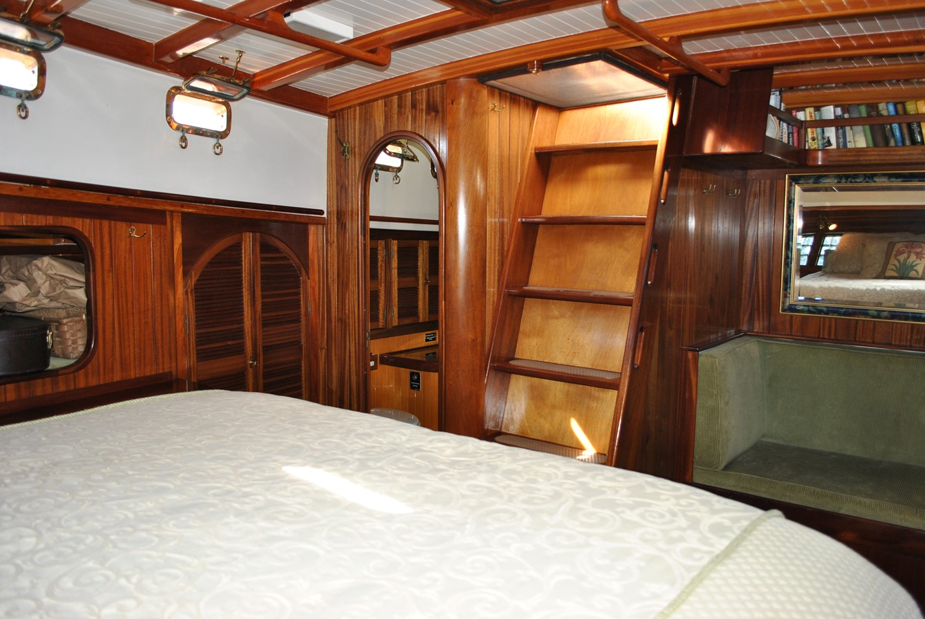 Owner's Companionway 1991 COVEY ISLAND BOAT WORKS  Cruising Sailboat 1522904