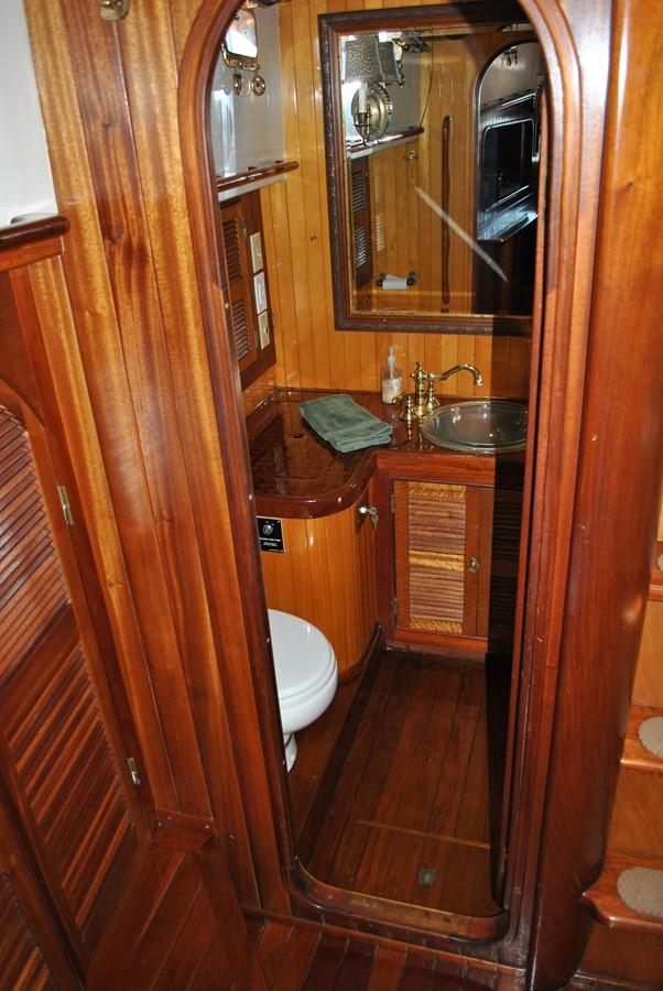 Owner's Head 1991 COVEY ISLAND BOAT WORKS  Cruising Sailboat 1522906