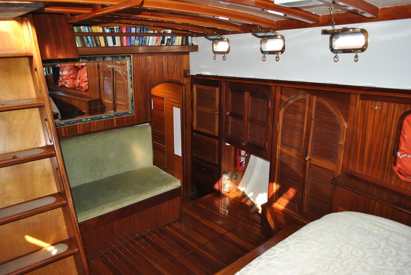 Abundant Storage 1991 COVEY ISLAND BOAT WORKS  Cruising Sailboat 1522907