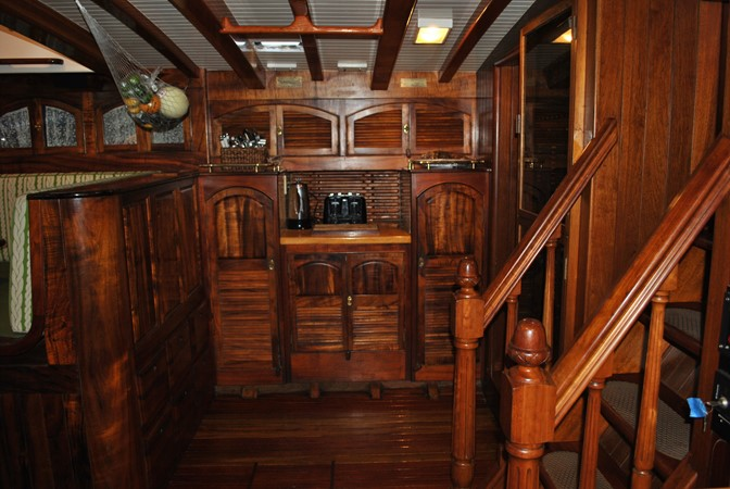 Bread & Coffee Station 1991 COVEY ISLAND BOAT WORKS  Cruising Sailboat 1522885