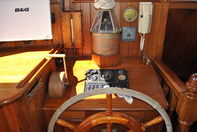 Inside Controls 1991 COVEY ISLAND BOAT WORKS  Cruising Sailboat 1522913