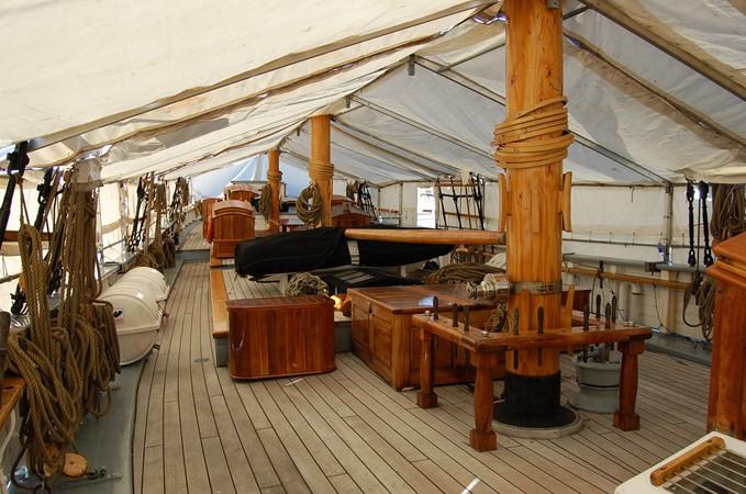 1942 CUSTOM BUILT Three Masted Topsail Schooner Tallship 1417152