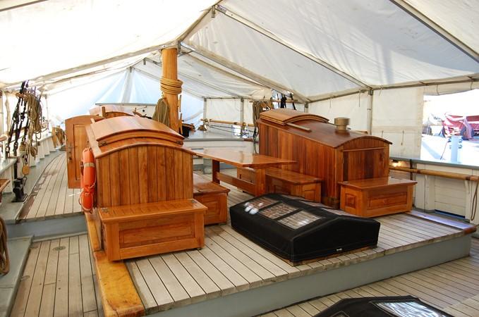 1942 CUSTOM BUILT Three Masted Topsail Schooner Tallship 1417153