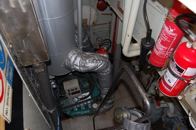 Engineroom 1942 CUSTOM BUILT Three Masted Topsail Schooner Tallship 1417154