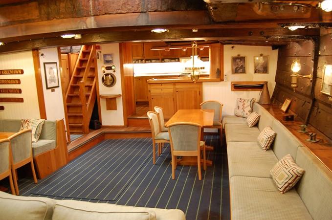 1942 CUSTOM BUILT Three Masted Topsail Schooner Tallship 1417169