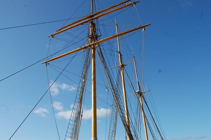 1942 CUSTOM BUILT Three Masted Topsail Schooner Tallship 1417183