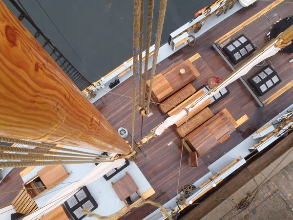 1942 CUSTOM BUILT Three Masted Topsail Schooner Tallship 1522012