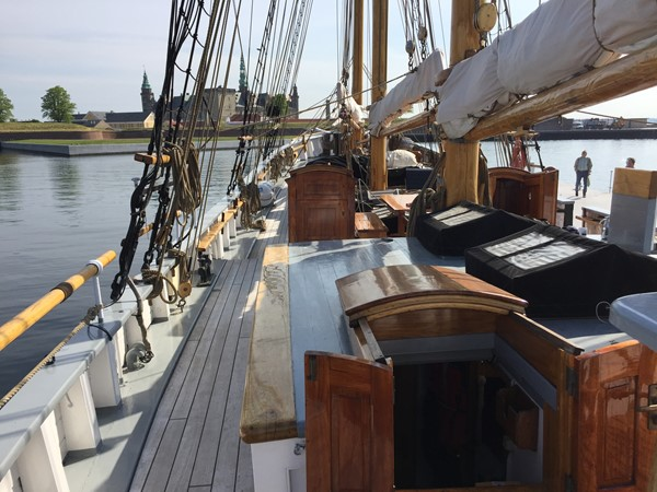 1942 CUSTOM BUILT Three Masted Topsail Schooner Tallship 1798371
