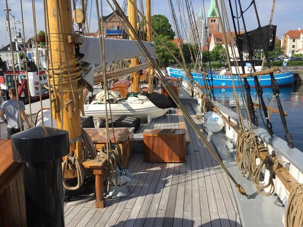 1942 CUSTOM BUILT Three Masted Topsail Schooner Tallship 1798372