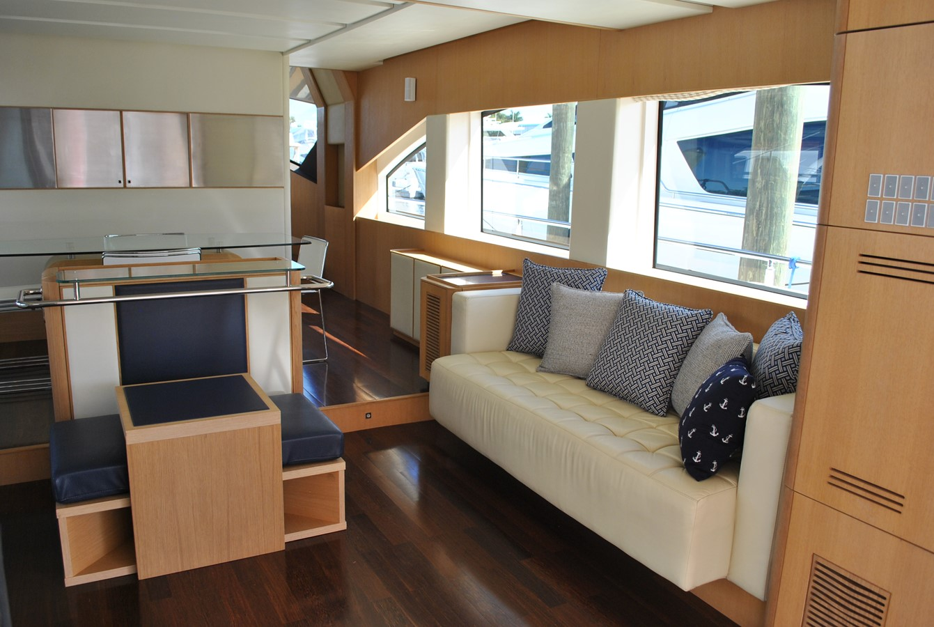 Salon Stb Side View 2008 AICON YACHTS  Motor Yacht 1431791