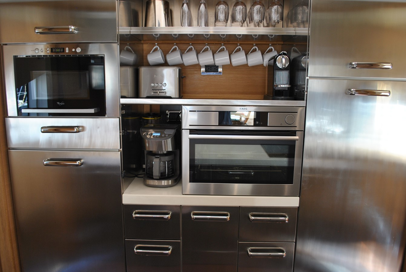Galley Forward View 2008 AICON YACHTS  Motor Yacht 1431811