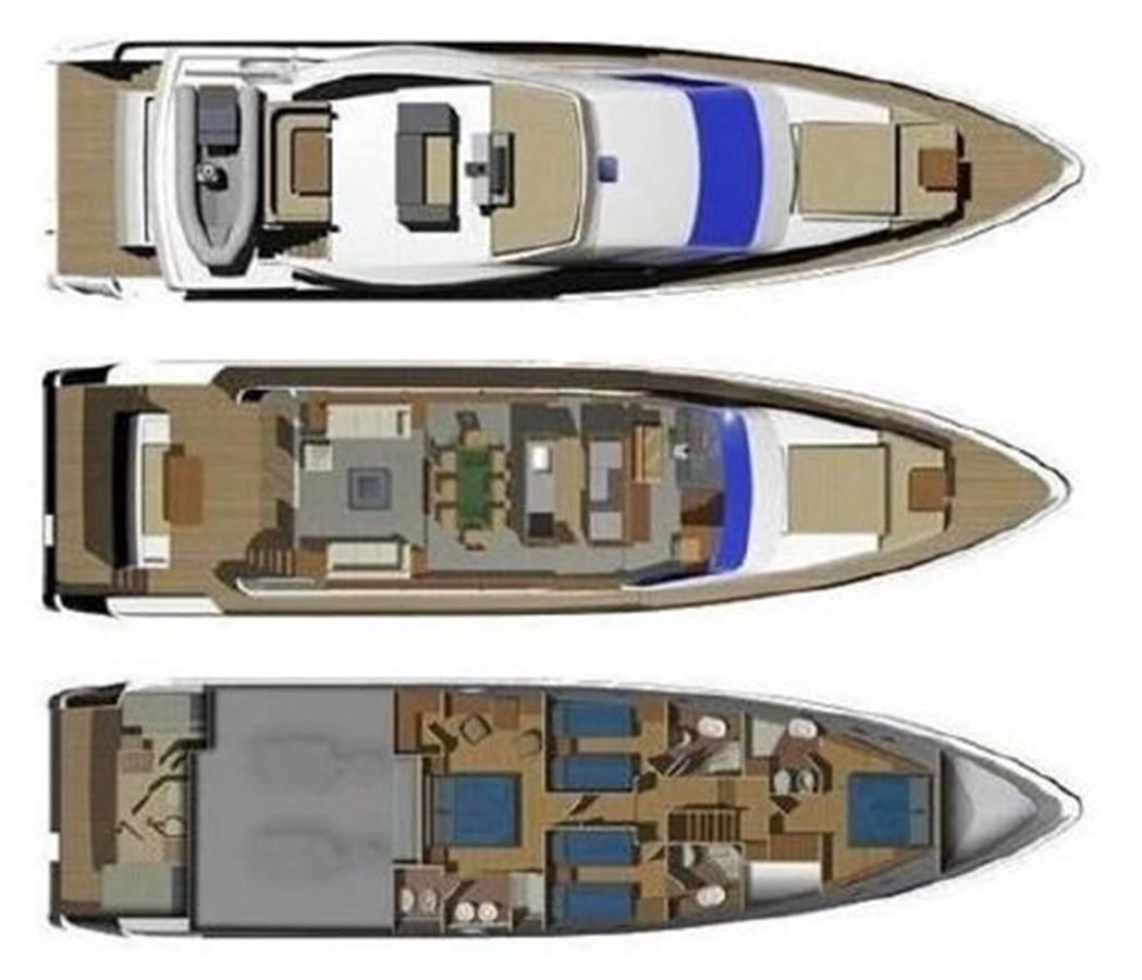 KRYSKAR Layout 2008 AICON YACHTS  Motor Yacht 1431813