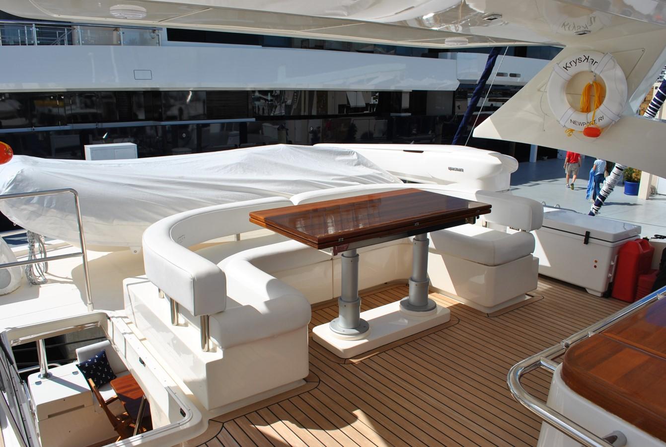 Flybridge Dinette 2008 AICON YACHTS  Motor Yacht 1431817