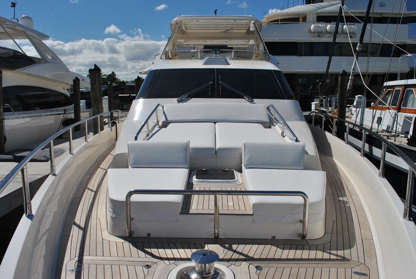Bow Lounging Area 2008 AICON YACHTS  Motor Yacht 1431820