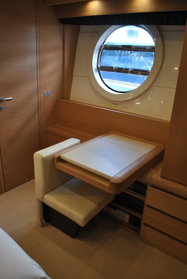 Master Statreoom Desk and Vanity 2008 AICON YACHTS  Motor Yacht 1435120